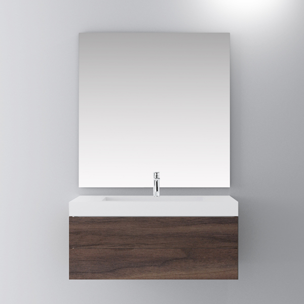 Single bathroom vanity