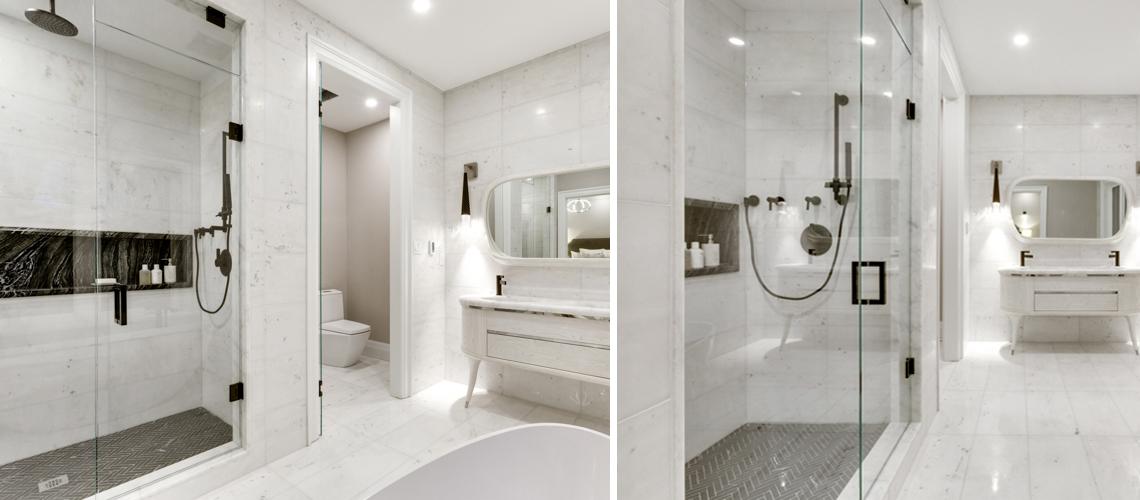 Master bath project Toronto
