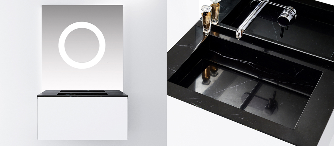MINERALE Drawer with handless design
