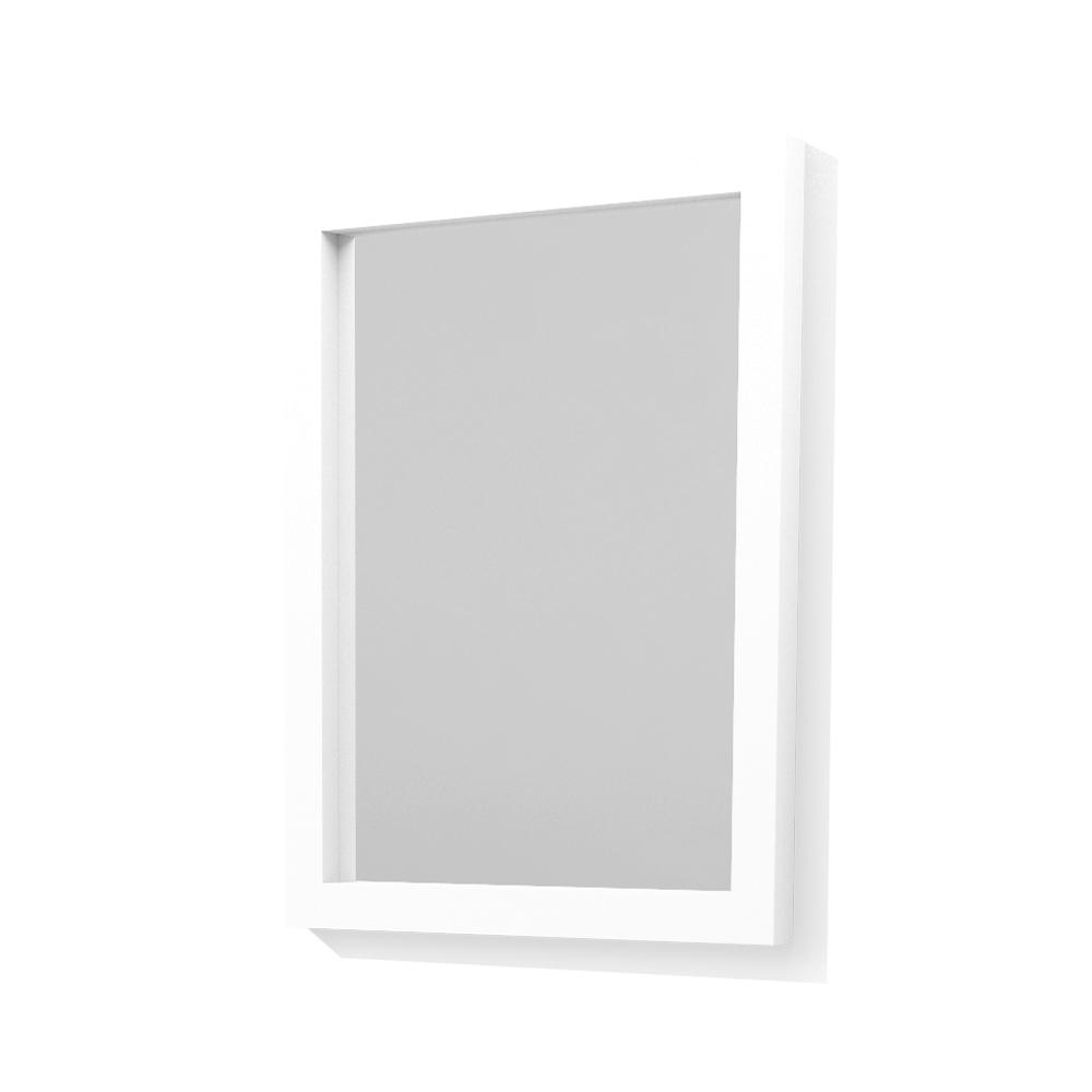 24' Mirror - white